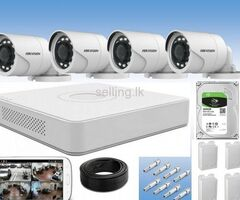 4 channel cctv  hik vision package