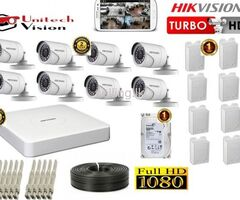 8 channel hik vision package