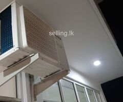 Brand new aircondition with warranty