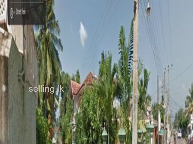 land with house for sale in Negombo prison road