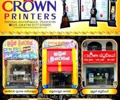 Crown Printers Kekirawa