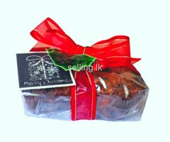 CHRISTMAS CAKE PIECES