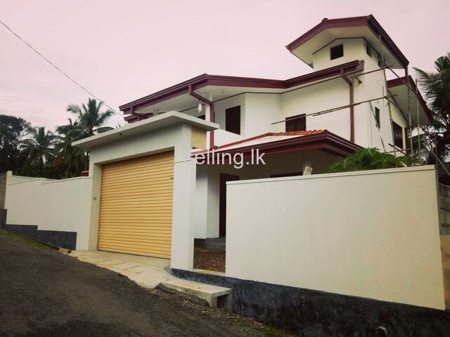 Brand New House For Sale In Mathugama
