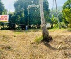 Land for Sale in Kavudupalalla Palapathwala matale