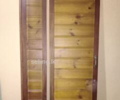 Wooden door for room