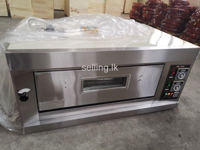 Gas oven 1 deck 2 tray 20 bread