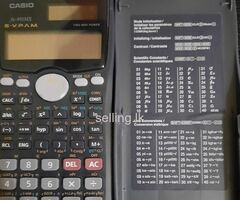 SCIENTIFIC CALCULATOR - CASIO