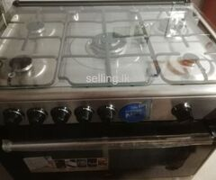 Beko Free standing gas oven with 5 burners