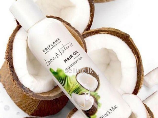 Love nature hair oil