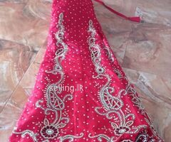 Bridal lehenga ( one time used)
