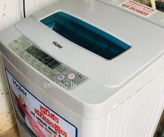LG 2 Door Refrigerator & HAIER Fully Auto Washing Machine