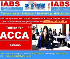 ACCA  - Individual & Group Classes