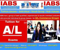 Tuition for O/L & A/L - Individual & Group Classes