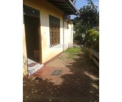 land with house in sale maharagama