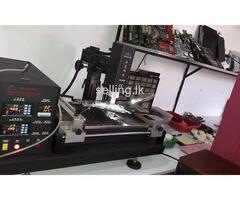 Laptop repair graphic conversion
