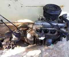 Mitsubishi 4DR5A engine With 3 Liver gear box complete