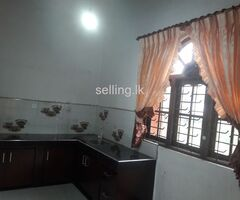fully tiled completed upstairs for rent at nittambuwa