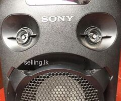 Sony MHC-V02 High Power Audio System With Bluetooth