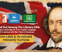 Cambridge OL & AL English language and literature