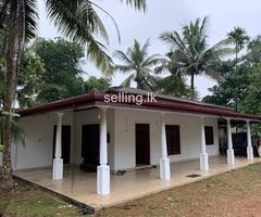 House with land at Kuruwita