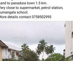 Land for sale Urgent