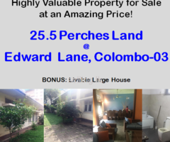 Highly Valuable Property for Sale at EDWARD LANE, COLOMBO-03