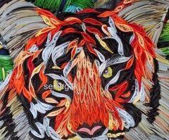 A4 paper art