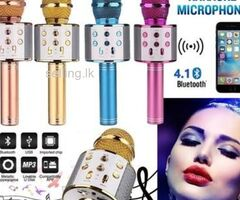 Wireless Bluetooth Microphone with Speaker and player