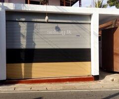 Shop for rent in Mount Lavinia