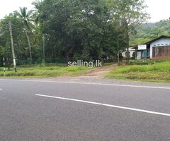 Land for sale in the Kataragama main road near to the town
