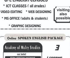 O/L Enlglish class