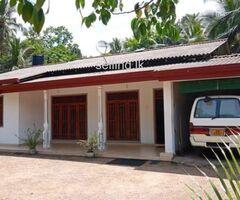 House for rent in Pinnawala Waga