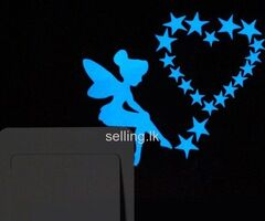 Switch Sticker Glow Blue