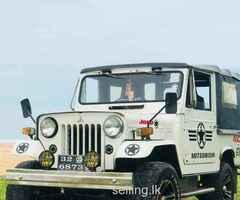 Mitshubishi 4DR5 jeep