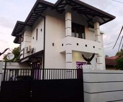 Two Story House in Negambo City Limit