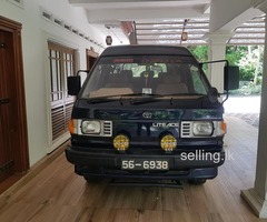 TOYOTA LITEACE 1991 4WD VAN FOR SALE