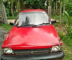 Suzuki Maruti 800cc car for sale