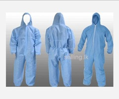 COVID-19 safety coveralls
