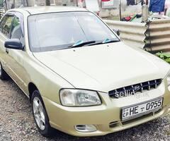 Hyundai accent GLS  AUTO FULL OPTION