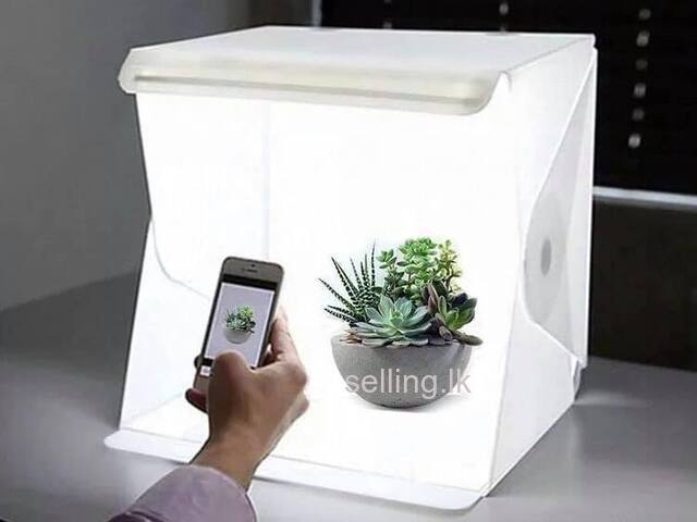 Led Light Portable Photo Studio Box