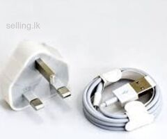 iPhone charger and cable