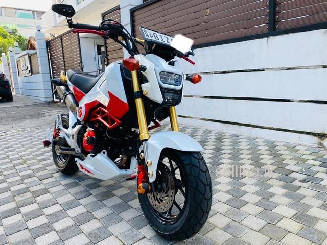 Honda Grom 125 Japanese 2016