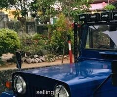 Mitsubishi 4DR6 Jeep