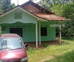 Land and House sale in walasmulla