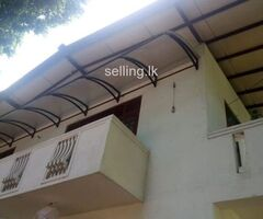 Up stair house for rent in 3km from Ragama town