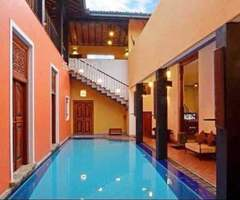 6BR House for Rent in Colombo 08