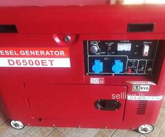 5-5kv diesel auto start generator brand new