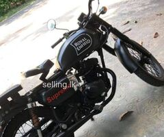 Cd125 modified bike
