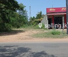 22 Perch Commercial Land for sale in Ambalanthota Main Road