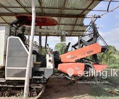 Mubota Ac70S harvester 2019